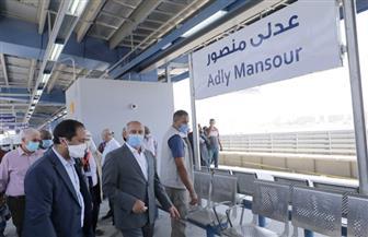وزير النقل يتابع الاستعدادات النهائية لمحطات المرحلة الرابعة للخط الثالث لمترو الأنفاق