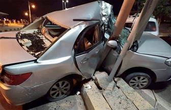 مصرع شخصين في حادث على الطريق الزراعي الشرقي بسوهاج