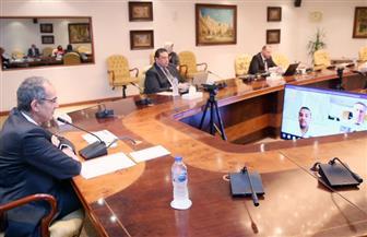وزير الاتصالات يلتقي بأعضاء أول بعثة افتراضية من ألمانيا لمصر بمجال التكنولوجيات الرقمية