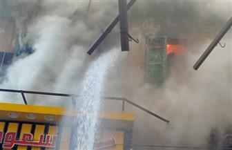 السيطرة على حريق في الموسكي دون إصابات ومحافظ القاهرة يشكل لجنة هندسية لمعاينة العقار المتضرر/ صور