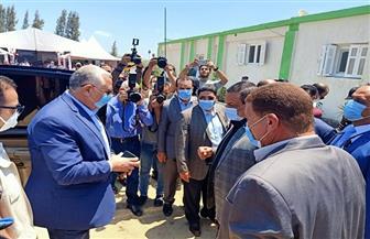 وزير الزراعة يصل إلى إيتاي البارود لافتتاح محطة الإنتاج الحيواني| صور