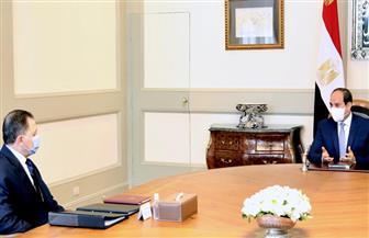 الرئيس السيسي يجتمع مع وزير الداخلية
