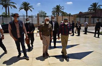محافظ بورسعيد يبحث تعزيز التعاون بين المحافظة وهيئة قناة السويس | صور