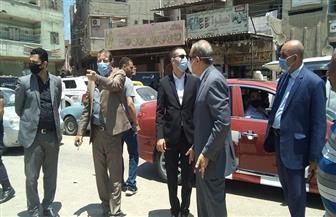 محافظ كفر الشيخ يحذر سائقي خط محلة القصب من تعطيل المرور على الطريق الرئيسى | صور