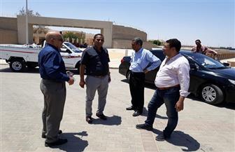 رئيس جامعة أسوان يتفقد مستشفى اليوم الواحد بأسوان تمهيدا لافتتاحها | صور