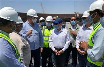 وزير البترول يتفقد مشروعات المنتجات البترولية بمنطقة عجرود بالسويس | صور
