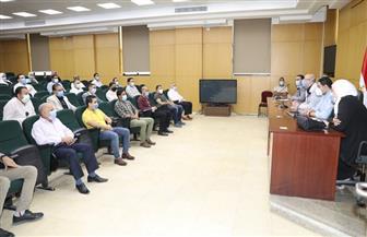 دورة تدريبية لـ 40 موظفا من العاملين بالإدارة المحلية في بني سويف | صور