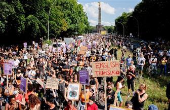 مئات الألمانيين يشاركون في تظاهرة ضد عنف الشرطة والعنصرية في برلين