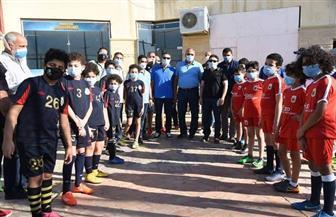 افتتاح ملعب خماسيات القدم بنادى الصيد في بورسعيد