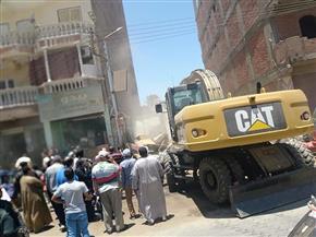 محافظ أسيوط: إزالة 15 حالة تعد على أراضي أملاك دولة بمركز أبوتيج|صور