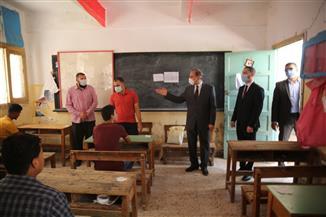 محافظ كفرالشيخ يتفقد عددا من لجان الثانوية العامة ويشيد بأعمال التأمين ويطمئن على طلاب بيلا|  صور