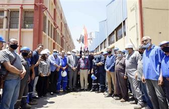 رئيس هيئة قناة السويس يشيد بمعدلات الأداء في ترسانة بورسعيد البحرية | صور