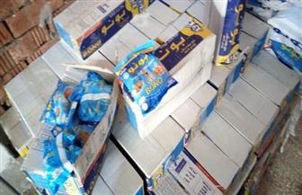 ضبط 11 طن ملح طعام فاسد داخل 4 مطاحن بمركز زفتى في الغربية | صور