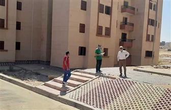 المجتمعات العمرانية تشرف على تسليم الشركات الجديدة لاستكمال عمارات الإسكان الاجتماعي بمدينة بدر