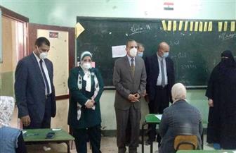 محافظ كفرالشيخ يتفقد لجان الثانوية العامة| صور