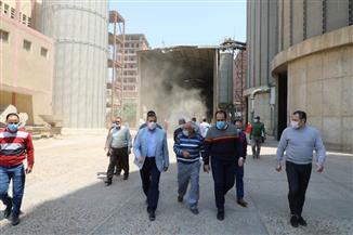 محافظ المنوفية: انتهاء توريد محصول القمح بإجمالي 137 ألفا و964 طنا |صور