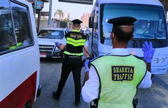 تغريم عشرات السائقين لعدم التزامهم بارتداء الكمامة الواقية لمواجهة فيروس كورونا بالشرقية |صور