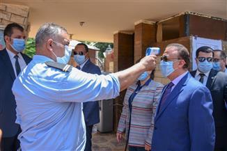 محافظ الإسكندرية يتفقد مراكز الشباب لمتابعة الإجراءات الاحترازية عقب عودة النشاط الرياضي | صور