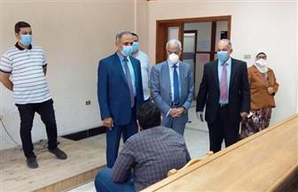 رئيس جامعة بورسعيد: انتهاء اليوم الثاني من امتحانات الصفوف النهائية دون شكاوى أو غياب | صور