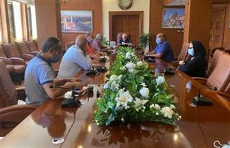 محافظ بورسعيد يعقد اجتماعا لمتابعة موقف حملات إزالة التعديات على أراضي الدولة   صور
