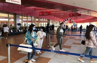 165 سائحا أوكرانيا يغادرون مطار شرم الشيخ دون إصابات طوال فترة إقامتهم بمصر