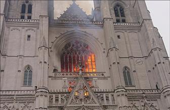 الشرطة الفرنسية تفرج عن رجل بعد استجوابه بشأن حريق كاتدرائية نانت