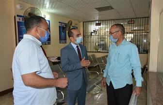 نائب محافظ سوهاج يتفقد المركز التكنولوجي وأعمال الصرف الصحي بساقلته   صور