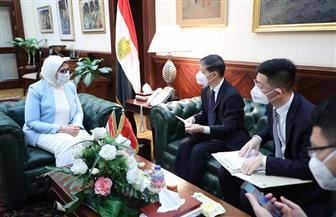 الاتفاق مع الصين على أن تصبح مصر مركزا لتصنيع لقاح فيروس كورونا في إفريقيا | صور