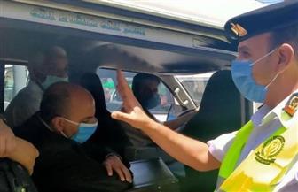 الداخلية تتخذ إجراءاتها القانونية ضد 2053 سائق نقل جماعى لعدم الالتزام بارتداء الكمامة
