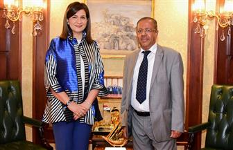 وزيرة الهجرة تستقبل وزير المغتربين اليمني لبحث التعاون في ملف المهاجرين | صور