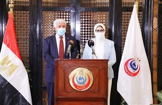 وزيرة الصحة تستقبل نظيرها اليمني لبحث تعزيز سبل التعاون بين البلدين