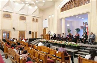 رئيس الإنجيلية يشارك في حفل تنصيب القس ماكن زكريا راعيا لإنجيلية شبرا الخيمة |صور