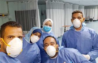 خروج 5 حالات تعافي من مستشفى الأقصر العام للعزل