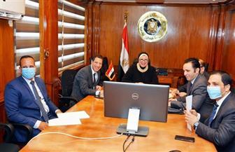 وزيرة التجارة  تستعرض مع سفير ألمانيا بالقاهرة مستقبل التعاون الاقتصادى المشترك بين البلدين