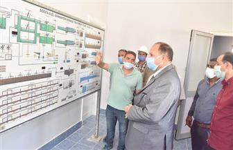 محافظ أسيوط يتفقد محطة معالجة صرف صحي المشايعة بتكلفة 305 ملايين جنيه | صور