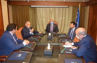 وزير الشباب والرياضة يلتقي الرئيس التنفيذي لمجموعة بيت الخبرة للتنمية الاقتصادية| صور