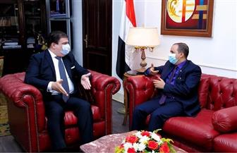 تعاون إعلامي بين الهيئة الوطنية للإعلام ووزارة الإعلام اليمنية | صور