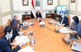الرئيس السيسي يؤكد رغبة مصر الصادقة في تحقيق تقدم على صعيد القضايا الخلافية بشأن سد النهضة