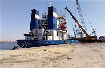 تداول 23 سفينة بضائع وحاويات وتفريغ 4000 طن رخام بمواني بورسعيد | صور