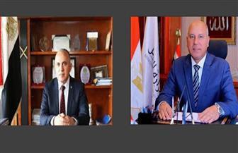 وزيرا الري والنقل يبحثان تطوير وتوسيع ميناء الإسكندرية.. ولجنة دائمة تتابع المشروعات المشتركة | صور