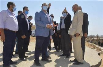 محافظ الجيزة يقيل رؤساء 3 وحدات محلية بالبدرشين | صور