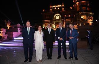41 سفيرا من دول العالم  يزورون قصر البارون إمبان ويحضرون حفل عشاء بالحديقة | صور