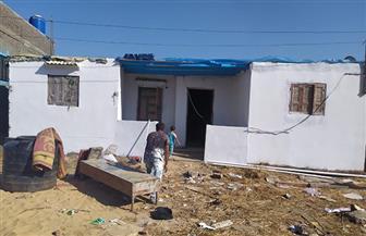 بدء رفع كفاءة 38 منزلا لمتضرري سوء الأحوال الجوية في الدقهلية | صور