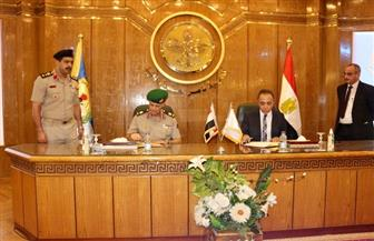 بروتوكول تعاون بين جامعة المنصورة وأكاديمية ناصر العسكرية لتأهيل الكوادر | صور