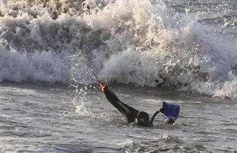 """حادث جديد بشاطئ الموت.. غرق 3 أشخاص بـ""""النخيل"""" أحدهم مجهول"""
