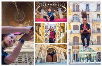 هنا جودة نجمة تنس الطاولة تنشر صورها بمعالم القاهرة | صور