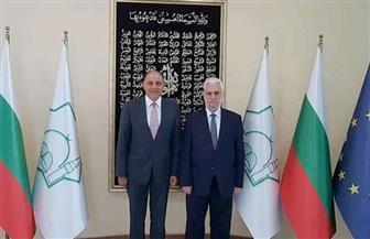سفير مصر بصوفيا يناقش مع مفتي بلغاريا دور الأزهر ودار الإفتاء في احتضان المسلمين حول العالم