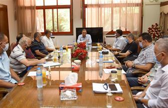 تفاصيل اجتماع رئيس الأهلي مع مدير النشاط الرياضي ورؤساء الأجهزة الفنية   صور