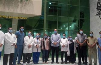 مساعد وزير الصحة يزور مستشفى العزل جنوب الأقصر | صور