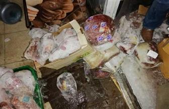 ضبط لحوم سودانية مبردة تباع باعتبارها بلدية بالدقهلية | صور